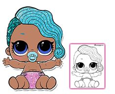 Color your favorite LOL Surprise Doll!