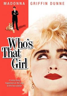 Who's That Girl High resolution Movie Posters