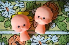 Vintage Doll Heads by TheGreenClock on Etsy