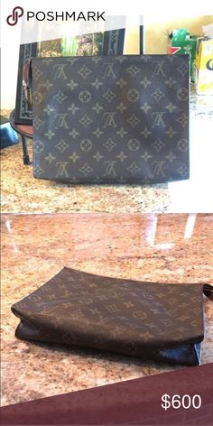 Toiletry 26 make offers Thinking about selling my authentic Louie toiletry 26 Louis Vuitton Bags Clutches & Wristlets