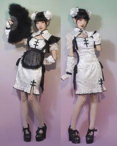 Harajuku Fashion, Kawaii Fashion, Lolita Fashion, Cute Fashion, Fashion Outfits, Pretty Outfits, Pretty Dresses, Cool Outfits, Character Outfits
