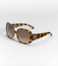 OVERSIZED SQUARE TORY BURCH SUNGLASSES WITH LEATHER DETAIL...YAY, I GOT THESE TODAY AND LOVE THEM!!!!