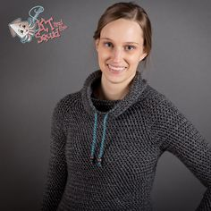 My Favorite Crochet Pullover: Pattern Release | KT and the Squid