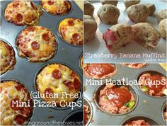 Freezer meals!  Toddler Meals: Mini Gluten Free Pizza Cups Strawberry Banana Muffins Mini Meatloaf Cups  Family Freezer Meals: Spaghetti for a Crowd Divine Chicken Summertime Beef Tips (to be grilled) Cilantro Lime Chicken with black beans and corn
