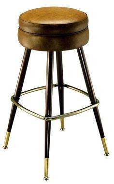 Bar Stool - 2525 | Deluxe Bar Stool | Bar Stool with Back | Restaurant Bar Stool