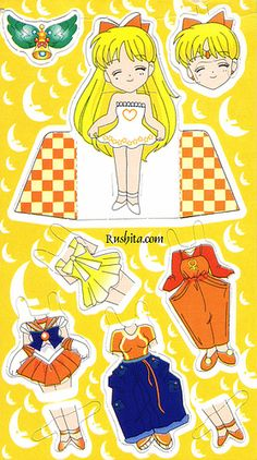 Manga Paperdoll * Google for Pinterest pals1500 free paper dolls at Arielle Gabriels The International Paper Doll Society also Google free paper dolls at The China Adventures of Arielle Gabriel *