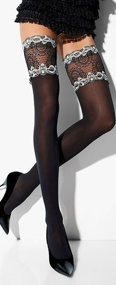 UK Tights and My Tights is now together and the world's biggest hosiery shop. Browse our huge range of nylon tights and all other hosiery online. Sexy Lingerie, Beautiful Lingerie, Steam Punk, Looks Style, My Style, Festivals, My Tights, Stocking Tights, Lovely Legs