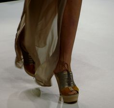 Shoes at the Irina Schrotter Show - http://olschis-world.de/  #IrinaSchrotter #Shoes #Fashion