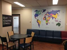 Custom wall mural ideas for your office space #officewallmurals #customwallart For more ideas check out www.mediamarksmen.com