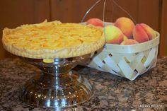 Recipes We Love: Peach Custard Pie