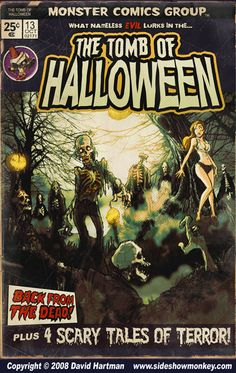 TOMB OF HALLOWEEN by Hartman by sideshowmonkey.deviantart.com on @deviantART
