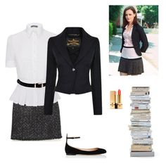 """Gilmore Girls ( Rory's Style)"" by lmb0508 on Polyvore featuring Chanel, Alexander McQueen, Vivienne Westwood Anglomania, Valentino, Yves Saint Laurent and Opinion Ciatti"