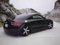 #Audi TT #RS #Stance #Custom Rims