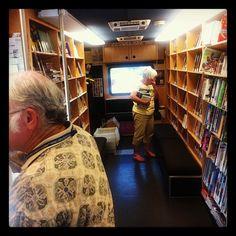 Interior of the FCPL Bookmobile (2012)