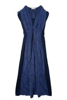 Tsumori Chisato Tulle V-neck Dress