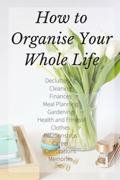 How to organise your whole life, one focus at a time.