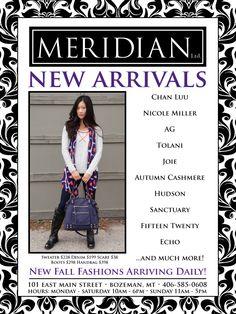 New Arrivals....