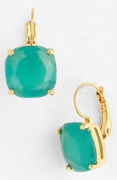 kate spade new york drop earrings available at #Nordstrom  @Kimberly Razo Wolf they're back! One's that will stay on your ears!