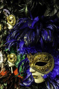 mascaras carnaval veneciano.-