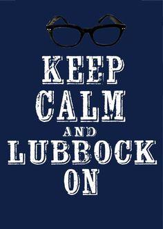 That's right Lubbock!  #lubbocktx #rustydeloach