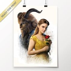 Belle Emma Watson Dan Stevens Die Schöne und das Biest