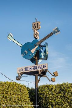 The Crossroads where Robert Johnson allegedly sold his soul to the devil is a real, functioning intersection in Clarksdale, Mississippi. Clarksdale Mississippi, Mississippi Delta, Delta Blues, Aquarius Water Sign, Leo And Sagittarius, The Crossroads, Robert Johnson, Blues Music, Blue Aesthetic
