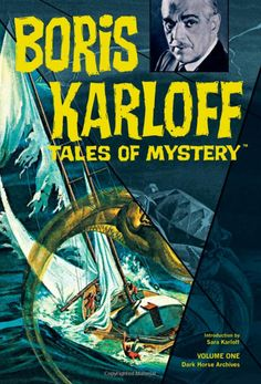 I discovered these comics on a site Sara Karloff had & developed a show around them with Dark Horse Comics. Mike Richardson republished them all in several beautiful hardcover volumes.