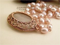 """""""Back from the past"""" the necklace 
