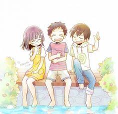 Durarara anri, mikado, masaomi/// so adorable!!!