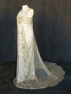 "shewhoworshipscarlin: "" Net dress, 1910. """