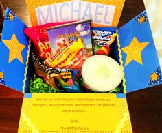 Various Customized Care Packages by PersonalParcels on Etsy Diy Birthday, Birthday Gifts, Deployment Gifts, Sorry For Your Loss, Care Packages, Packaging, Candy, Handmade Gifts, Etsy