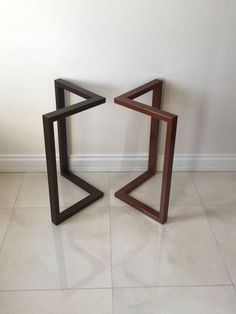 These set of 2 Frame legs are made out of Steel Tubing and can bear heavy loads. Easily tap it into your wood top with hex screws from the pre-drilled holes. Can be ordered without the holes. Brackets/plates can be welded on top side. Please send us a convo about your mounting preference. HEIGHT : Can be 26 - 27 - 28 - 29 - 30 - 31 - 32 Just choose from the drop down list. WIDTH : 24 / 61cm Can be CUSTOMIZED. Please send us a message with your measurements for a quick quote. FIN...