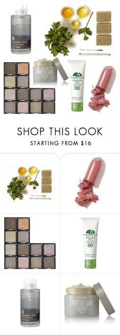 """Untitled #803"" by elizabeth-buttery ❤ liked on Polyvore featuring beauty, LAQA & Co., Bobbi Brown Cosmetics, Origins, Secret Nature and Fresh"
