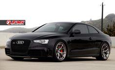"Audi RS5 on 20"" HRE S101 & Lambo Orange Calipers - TAG Motorsports"
