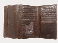 Dark Brown Leather Purse | Heaps Of Card Slots | Large Practical Fashionable Purse | Western Purse