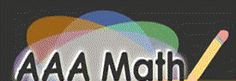 AAA Math features a comprehensive set of interactive arithmetic lessons. Unlimited practice is available on each topic which allows thorough mastery of the concepts. A wide range of lessons (Kindergarten through Eighth grade level) enables learning or review to occur at each individual's current level. The AAAMath.com site contains thousands of pages of Math Lessons.