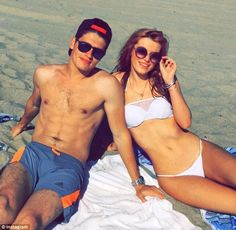 Beach time: The actress Bella Thorne was seen soaking up some sun with pal Gregg Sulkin on Thursday