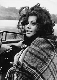 Sophia Loren 1965. South Wales. Gorgeus.