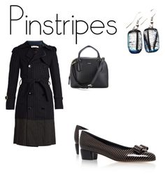 """""""Rainy Day"""" by gymtastic ❤ liked on Polyvore featuring Golden Goose, DKNY and Salvatore Ferragamo"""
