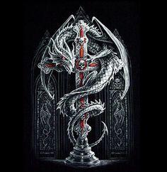 Dragon and Cross