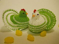 These adorable egg warmers or cozies are surprisingly quick to make and are just the right touch for your Easter basket or table. Sized to fit