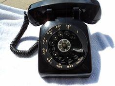 Rotary phone hook up
