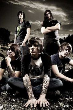 Bring Me The Horizon. I'm literally obsessed with these guys i think.
