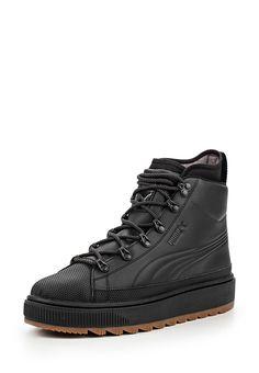 Кеды Puma The Ren Boot Puma Black выполнены из натуральной кожи. Детали: шнуровка, текстильная вн...