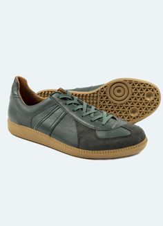 newest collection 26b51 6634e Reproduction of Found German Military Sneakers - Dark Green – Berg Berg