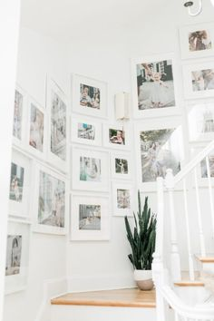 Ikea Gallery Wall, Stairway Gallery Wall, Gallery Wall Frames, Frames On Wall, Stairway Photos, Gallery Walls, Ikea Photo Frames, Ikea Picture Frame, Ikea Frames