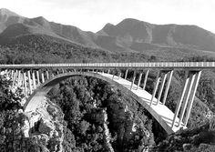 Paul Sauer Bridge over the Storms River circa 1960