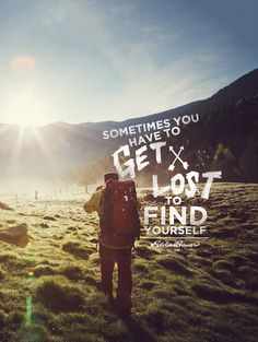 Get Lost & Find Yourself on Behance
