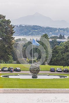 The Palais des Nations one major building of the United Nations in Geneva, Switzerland