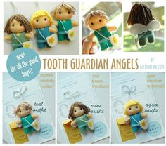Tooth Guardian Angel Keepsake for Losing Tooth Boy by GiftsDefine